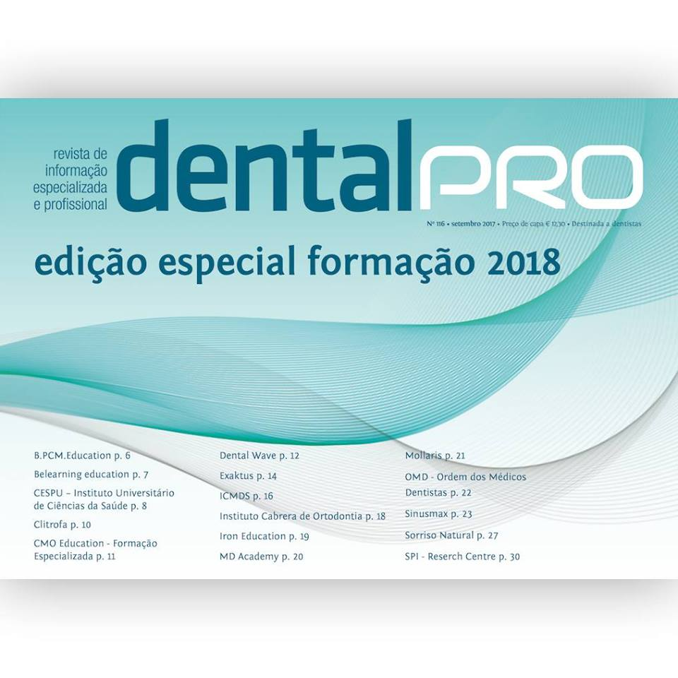 Capa da revista DentalPro