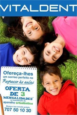 Imagem da notícia: Clínicas Vitaldent promovem campanha