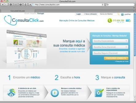 Imagem da notícia: ConsultaClick.com fornece informações sobre saúde