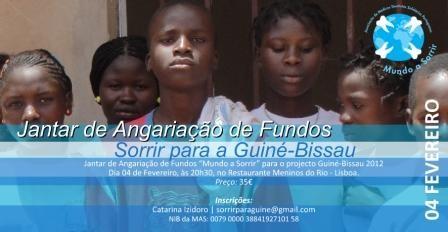 """Imagem da notícia: """"Sorrir para a Guiné-Bissau"""""""