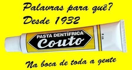 Imagem da notícia: Pasta de dentes Couto celebra 80 anos e é vendida até 2017