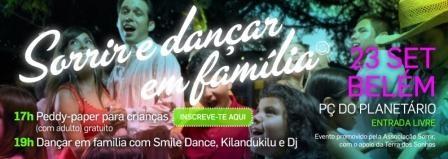 """Imagem da notícia: """"Sorrir e dançar em família"""""""