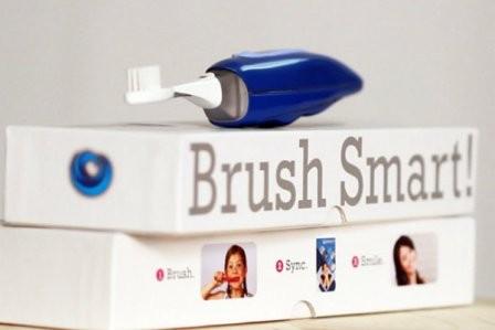 Imagem da notícia: Escova de dentes controla tempo e frequência de escovação