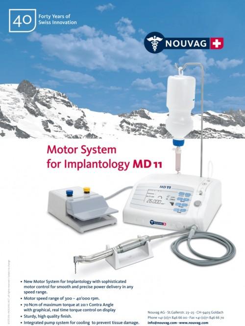 Imagem da notícia: MD11:sistema de controlo para maior precisão em Implantologia Portugal