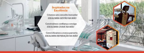"""Imagem da notícia: Obras """"chave na mão"""" em medicina dentária"""