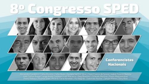 Imagem da notícia: Já começou o 8º Congresso SPED!