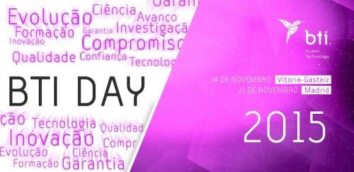 Imagem da notícia: BTI Day é em novembro!