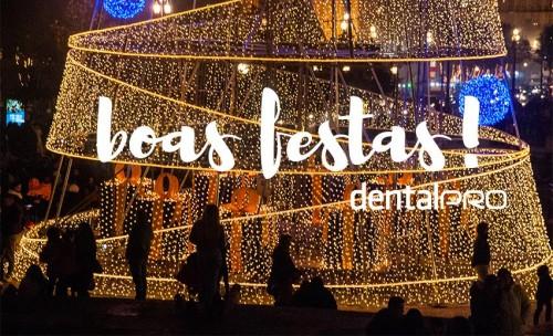 Imagem da notícia: Boas festas, na companhia da DentalPro!
