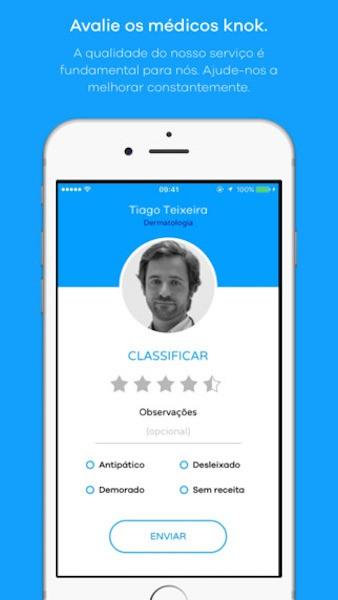 """Imagem da notícia: App que """"chama"""" médico a casa"""
