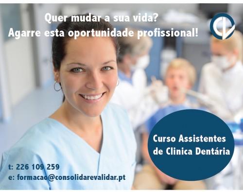 Imagem da notícia: Curso para Assistentes de Clínica Dentária
