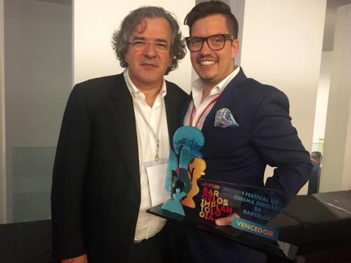 Imagem da notícia: João Mouzinho vence I Festival de Cinema Dentário