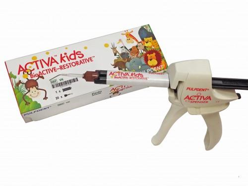 Imagem da notícia: ACTIVA KIDS: ideal para restauração de dentes de crianças