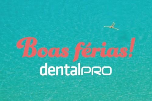 Imagem da notícia: DentalPro de férias!