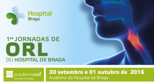Imagem da notícia: Hospital de Braga recebe Primeiras Jornadas de Otorrinolaringologia