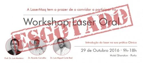 Imagem da notícia: Workshop de Laser Oral