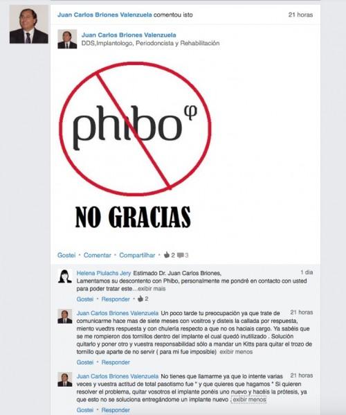 """Imagem da notícia: Dentista """"denuncia"""" Phibo no Linkedin"""