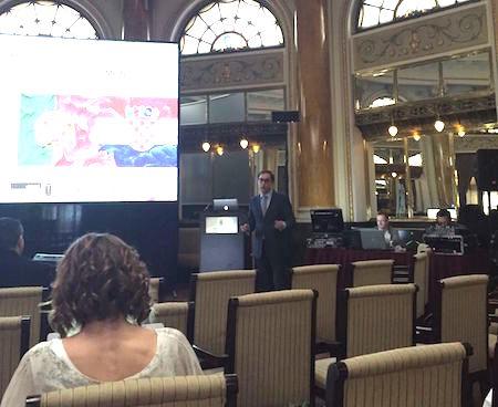 Imagem da notícia: Fernando Duarte apresenta palestra na Croácia
