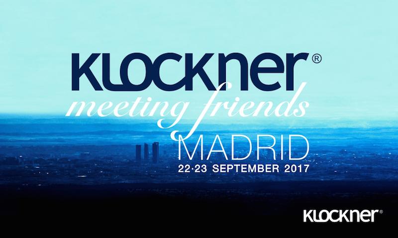 Imagem da notícia: Klockner organiza III Meeting Friends em Madrid