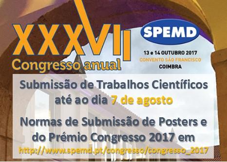 Imagem da notícia: Participe no XXXVII Congresso Anual da SPEMD