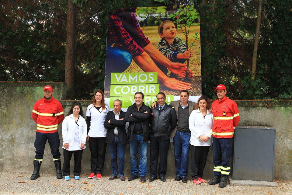 Imagem da notícia: Campus Clinic solidária com bombeiros e meio ambiente