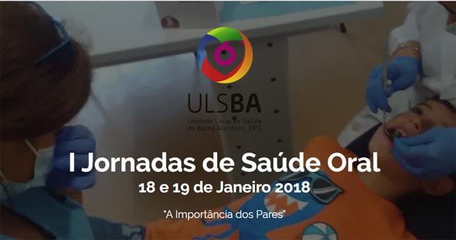 Imagem da notícia: I Jornadas de Saúde Oral da ULSBA
