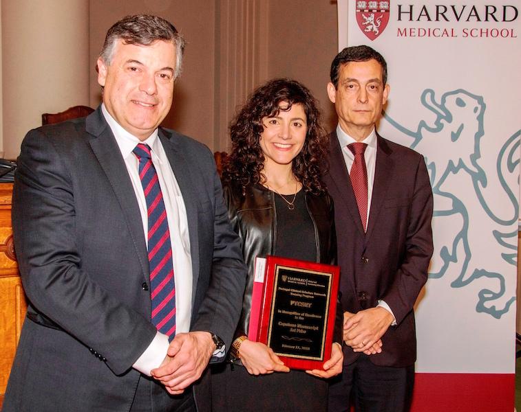 Imagem da notícia: Docente da FMUC premiada pela Harvard Medical School