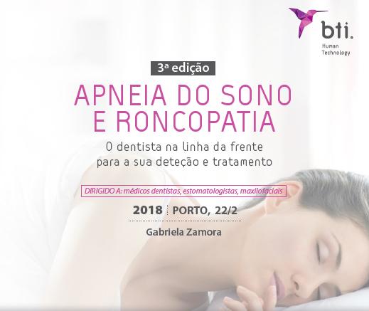 Imagem da notícia: BTI organiza sessão sobre apneia do sono e roncopatia