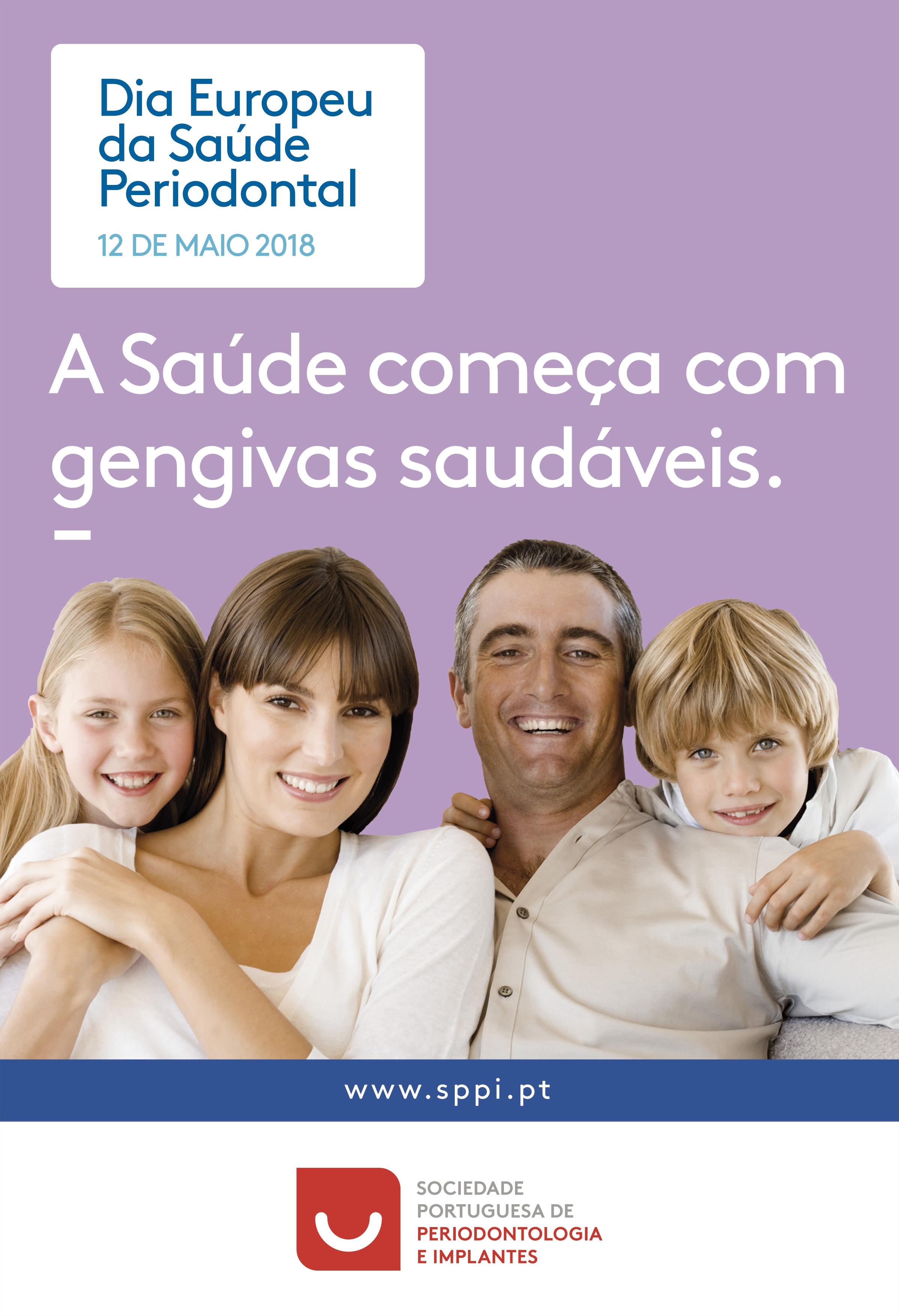 Imagem da notícia: Celebre o Dia Europeu da Saúde Periodontal