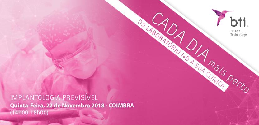 """Imagem da notícia: BTI promove """"Implantologia Previsível"""""""