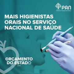 Imagem da notícia: PAN propõe contratação de higienistas orais para OE 2019