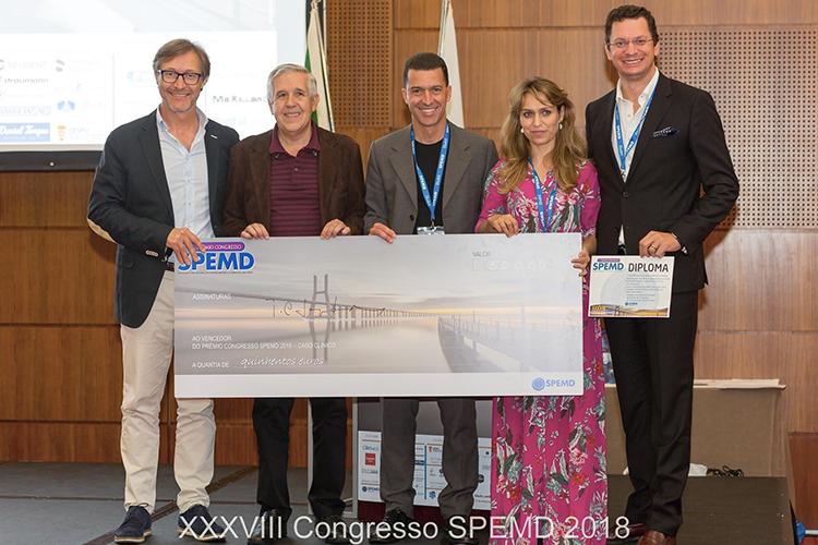 Imagem da notícia: Docentes da FMUC premiados no Congresso SPEMD