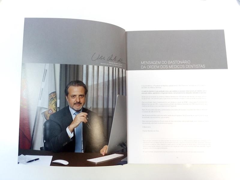 Imagem da notícia: OMD lança livro e oferece um exemplar à DentalPro