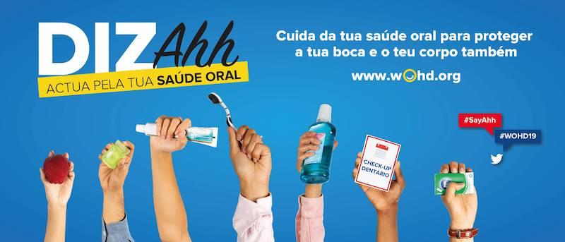 Imagem da notícia: Amanhã é o Dia Mundial da Saúde Oral