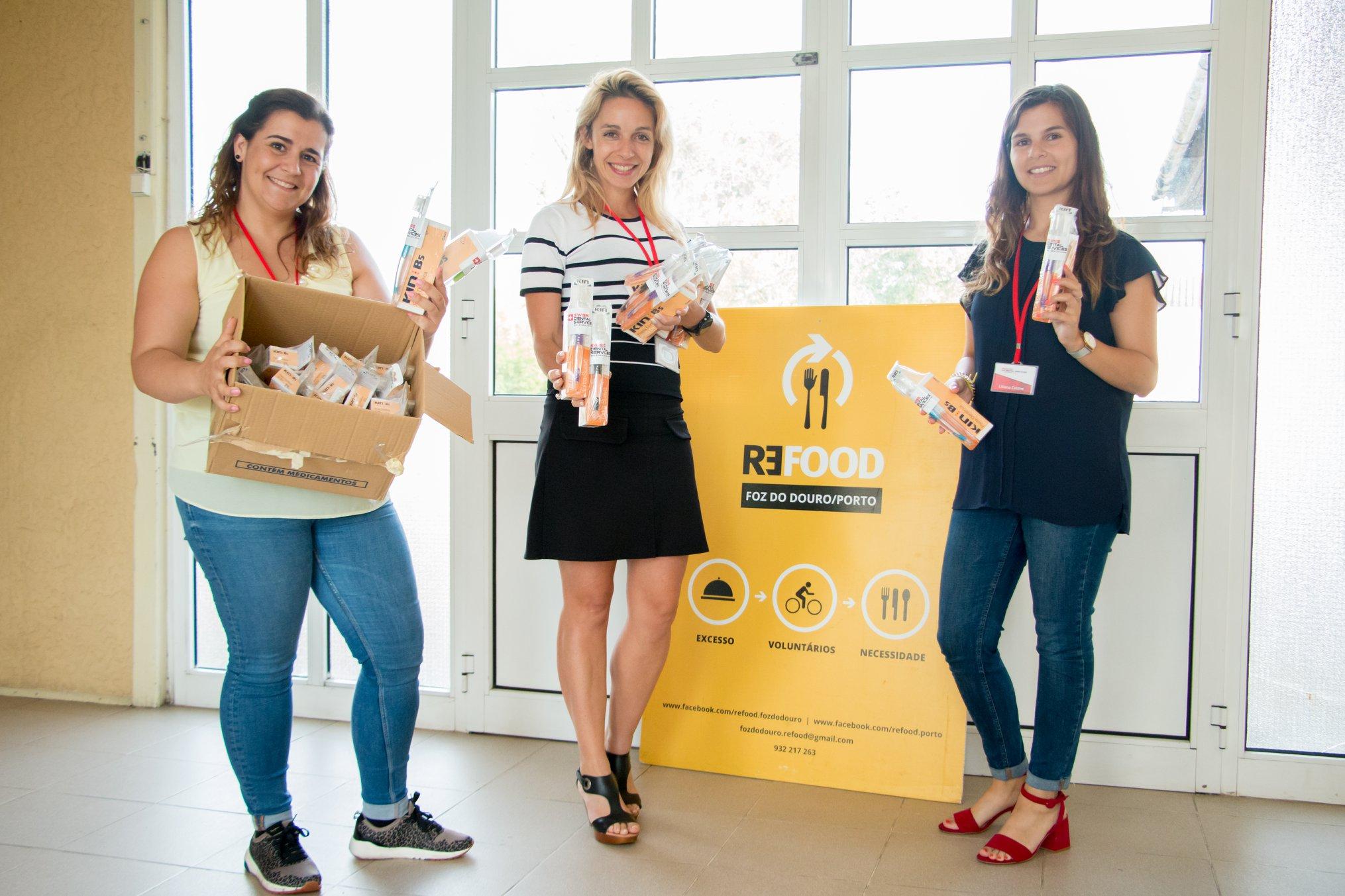 Imagem da notícia: Swiss Dental Services realizou ação solidária na Refood
