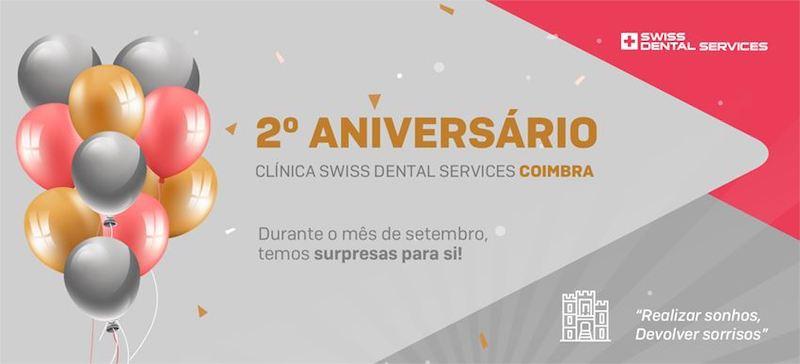 Imagem da notícia: Swiss Dental Services de Coimbra assinalou dois anos