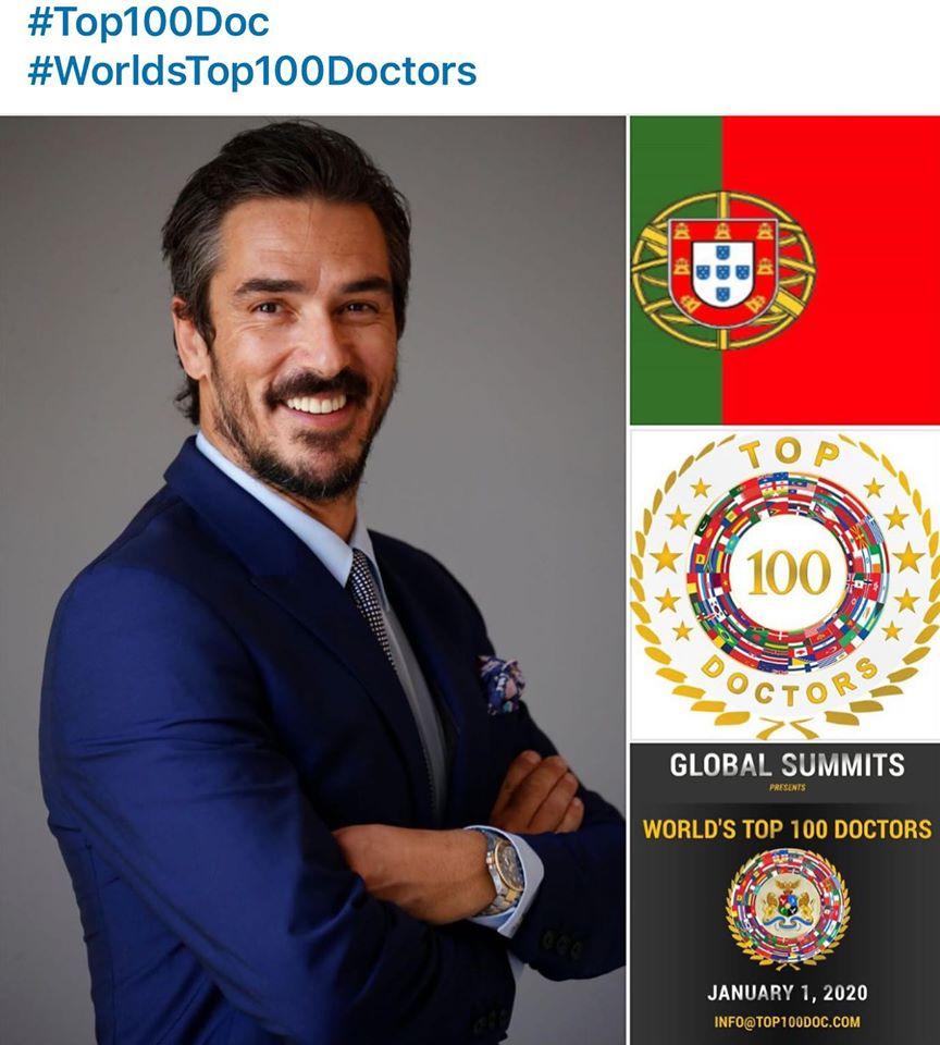 Imagem da notícia: Miguel Stanley entre os 100 melhores dentistas do mundo