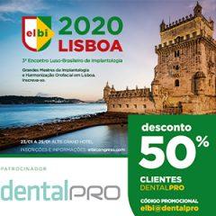Imagem da notícia: Leitores da DentalPro com desconto no 3º ELBI