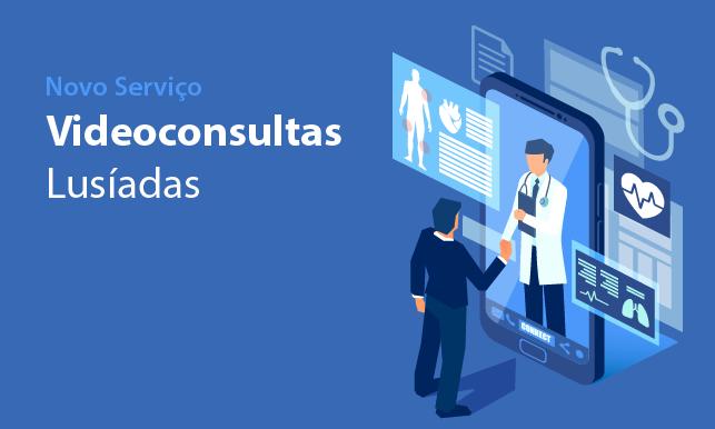 Imagem da notícia: Lusíadas Saúde cria serviço de vídeoconsultas