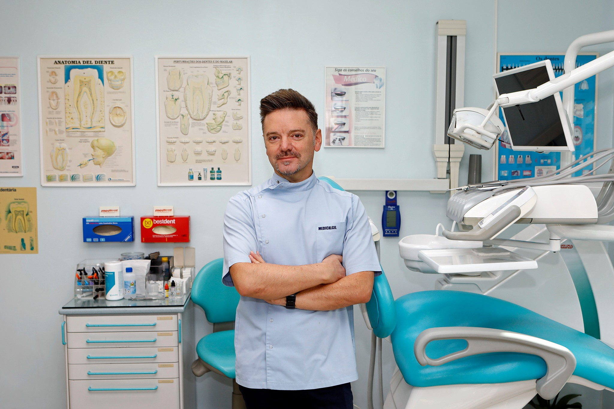 Imagem da notícia: Gil Oliveira: Covid-19 e o impacto na medicina dentária