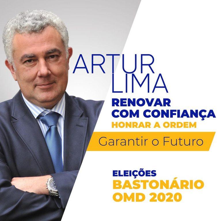 Imagem da notícia: Artur Lima é candidato a bastonário da OMD