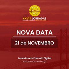Imagem da notícia: XXVIII Jornadas Internacionais de Medicina Dentária são digitais e em novembro