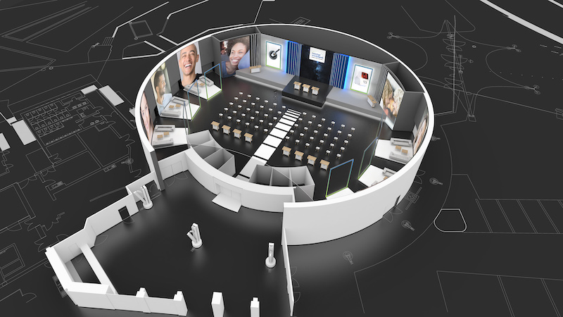 Imagem da notícia: Ivoclar Vivadent com plataforma de eventos virtual no IDS