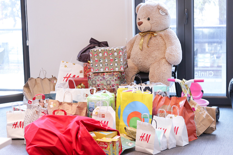 Imagem da notícia: Clínica Arriaga e os seus colaboradores doam bens