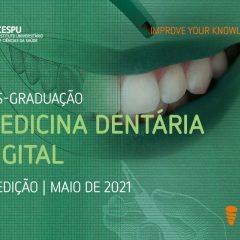 Imagem da notícia: Inscrições abertas para 2ª edição da Pós-Graduação em Medicina Dentária Digital