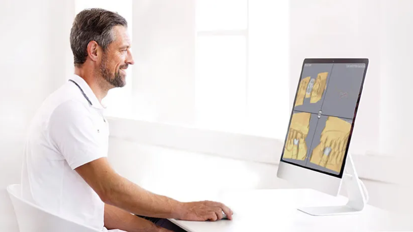 Imagem da notícia: 3Shape lança plataforma digital de design dentário alimentada por IA