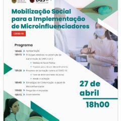 """Imagem da notícia: OMD e DGS organizam workshop sobre """"Mobilização social para a implementação de microinfluenciadores"""""""