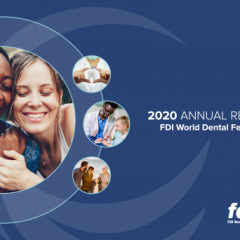 Imagem da notícia: World Dental Federation: FDI apresenta Relatório Anual de 2020