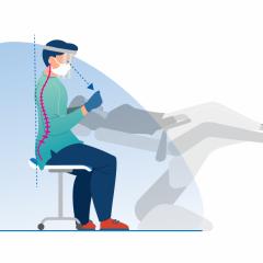 Imagem da notícia: FDI com novas diretrizes sobre ergonomia e postura no trabalho
