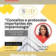 Imagem da notícia: SMD organiza webinar a 8 de maio