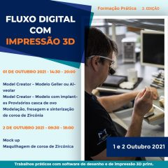 Imagem da notícia: MDens apresenta 3ª Edição de Formação Prática- Fluxo Digital com Impressão 3D